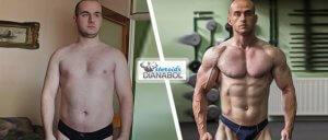 До и после: отзыв о Dianabol от Михаила (Тверь, Россия)