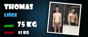 Avant-Après et avis sur les stéroïdes cure de dianabol : Thomas - Liege