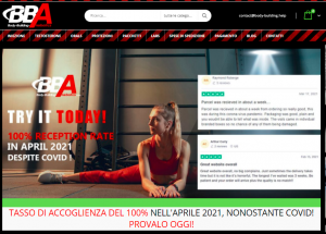 Recensione Test Negozio body-building-anabolics.is